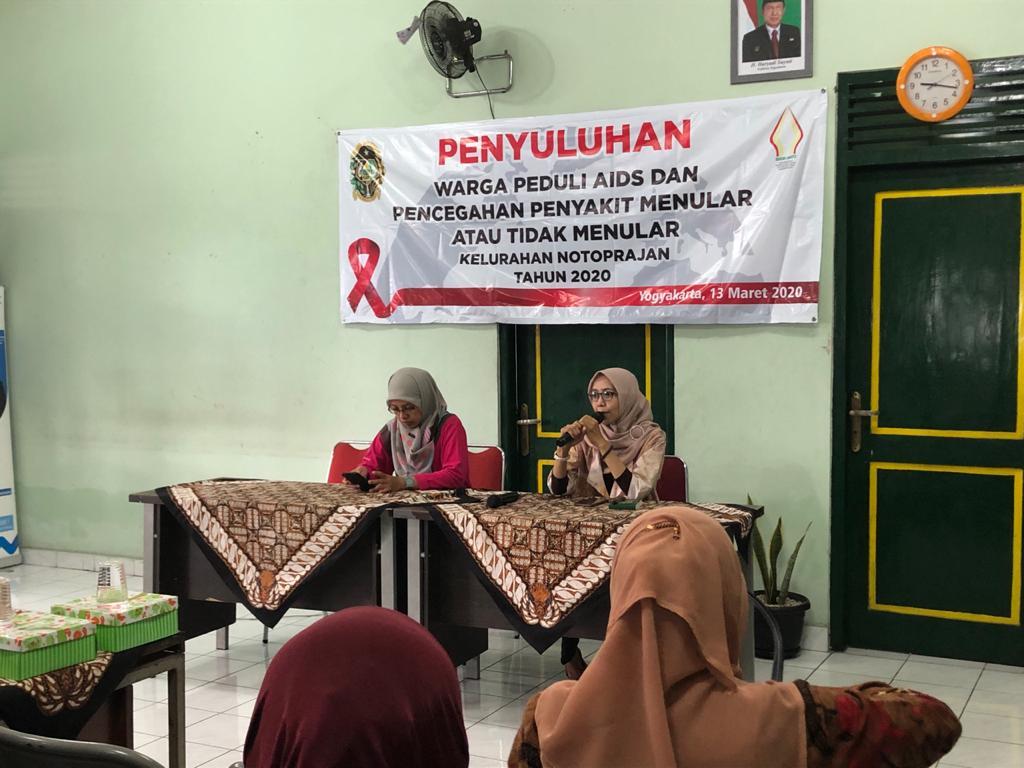 Penyuluhan Warga Peduli Aids  dan Pencegahan Penyakit Menular dan tidak Menular