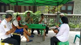 Giat Edukasi Disiplin Prokes Warung Makan di Wilayah Notoprajan