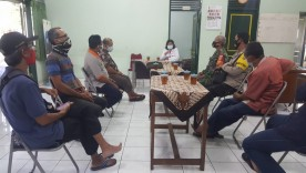 Rapat Koordinasi PPKM Mikro Kelurahan Notoprajan