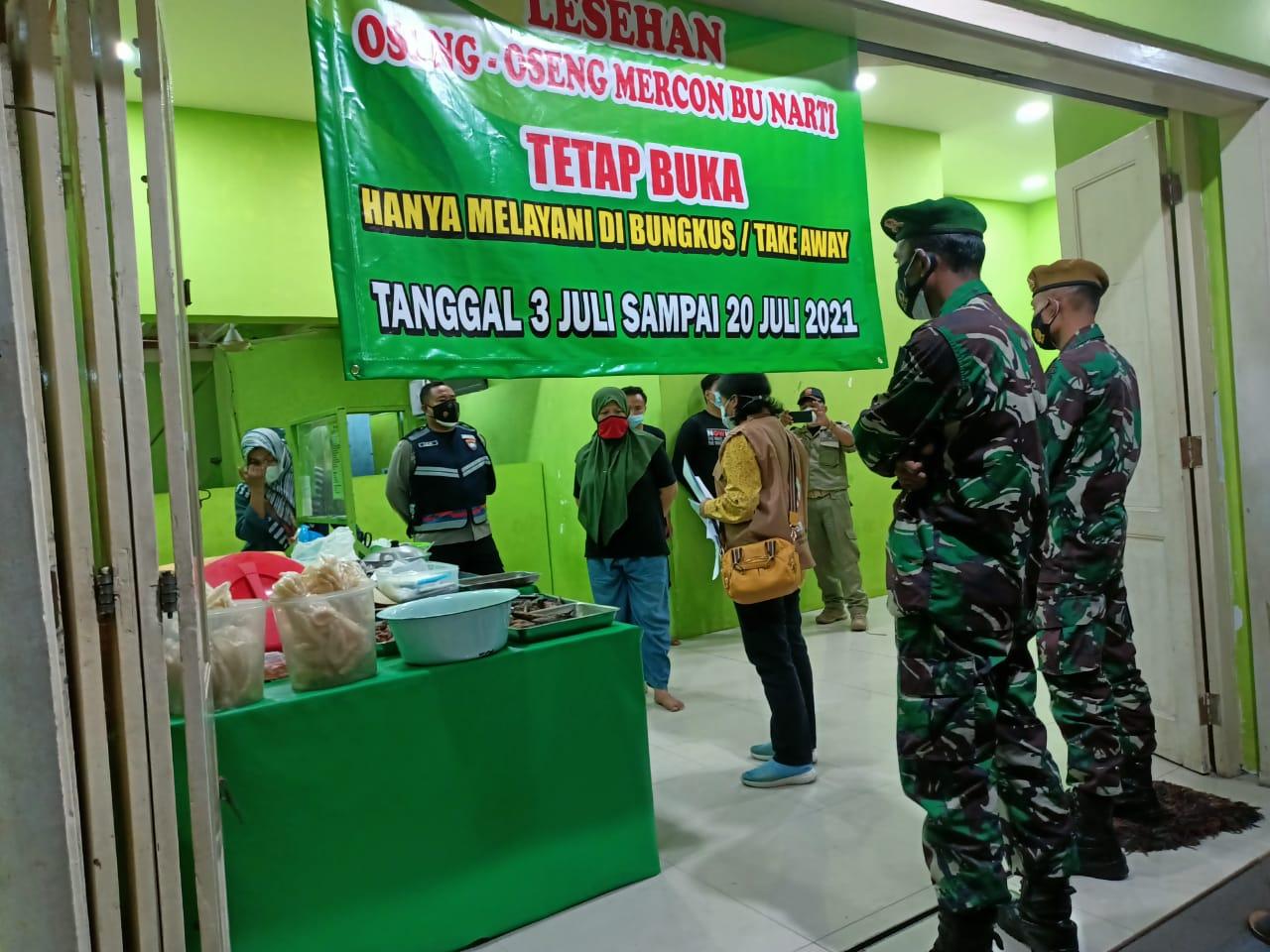 Pemantauan PPKM Darurat Di Wilayah Notoprajan