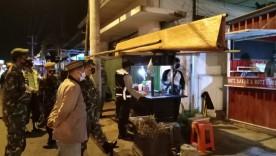 Tim Gabungan Kemantren Ngampilan, Gelar Monitoring PPKM Darurat