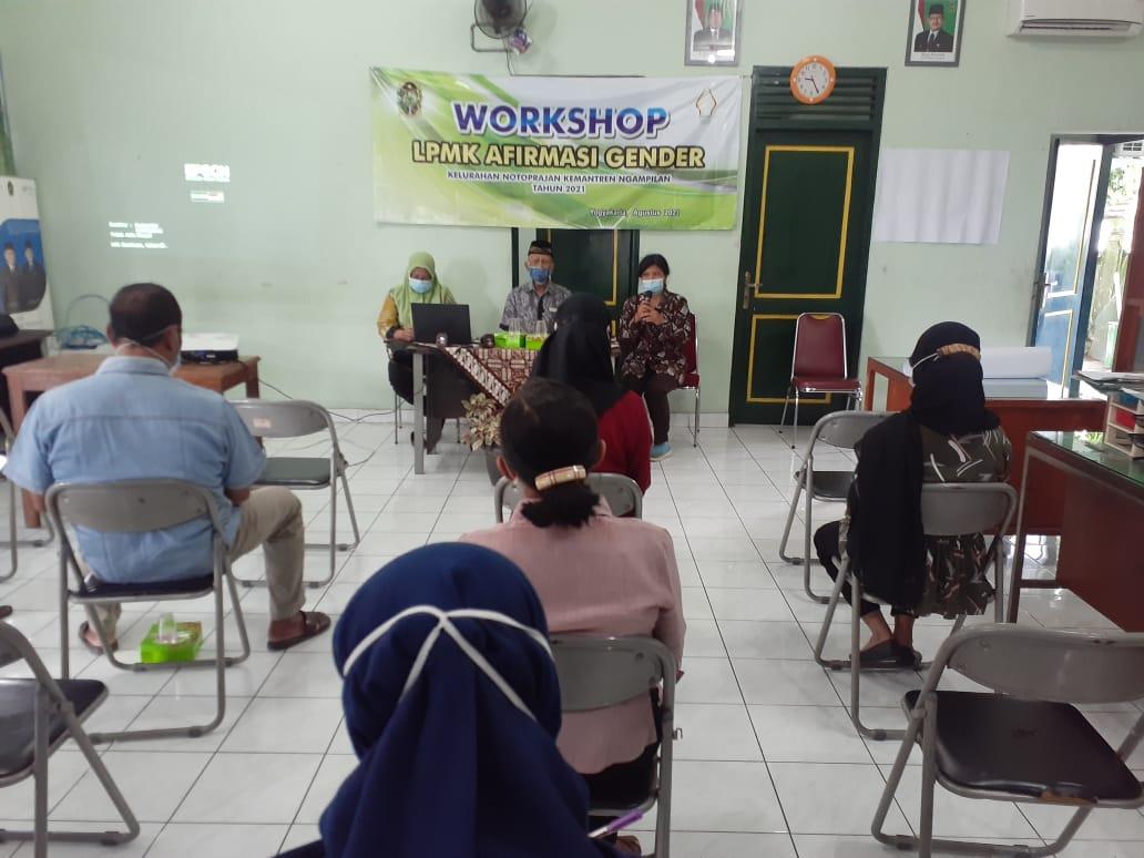 Workshop Afirmasi Gender