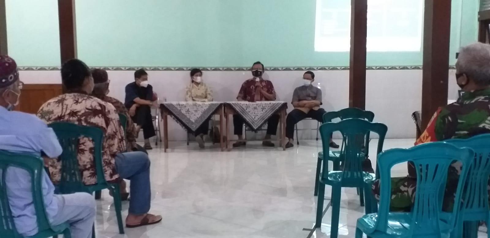 Sosialisasi Gerakan Kampung Panca Tertib Kampung Di Suronatan